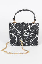 Load image into Gallery viewer, Splatter Paint Purse