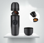 Condensed portable mini coffee machine