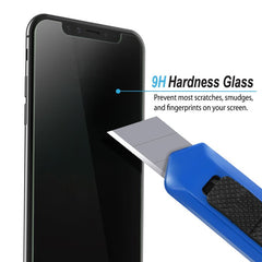 "Insten Privacy Tempered Glass Screen Protector For iPhone 11 Pro 5.8"" 2019 / iPhone XS / iPhone [With Installation Tray] Anti Spy Film Guard"