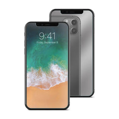 "Insten Mirror Edge to Edge Curved Full Coverage Screen Protector Guard Film for Apple iPhone 11 Pro / XS / iPhone X 5.8"" 2017"