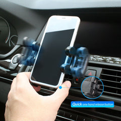Insten Car Air Vent Phone Holder Mount (Width to 4.3 inch) for Smartphone iPhone 11 12 Mini Pro Max XS X 8 6 6S Plus SE Galaxy S10 S9 S8 Note 10