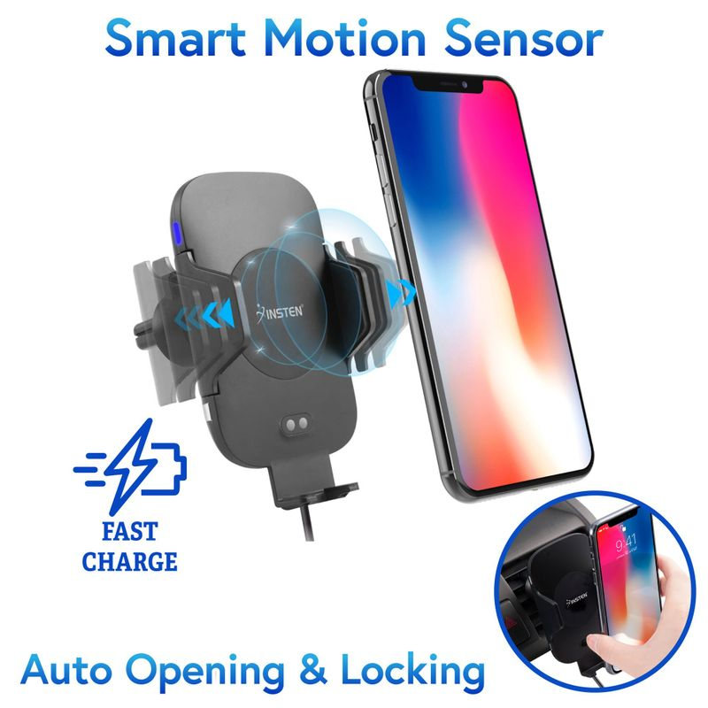 Fast Charging Wireless Charge Car Mount