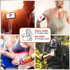 Running Phone Holder for iPhone 11 Pro Max XR X XS 8 7 Plus Galaxy S20 S10 S9 Detachable & 360 Rotatable Sports Armband Case + Free Wrist Band INSTEN