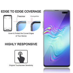 3-Piece Clear TPU Screen Protector Compatible with Samsung Galaxy S10 Plus