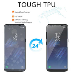 Insten 3-Piece TPU Clear Plastic LCD Screen Protector Film Cover For Samsung Galaxy S8