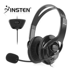 INSTEN Headset with Microphone compatible with MicroSoft xBox 360, Black