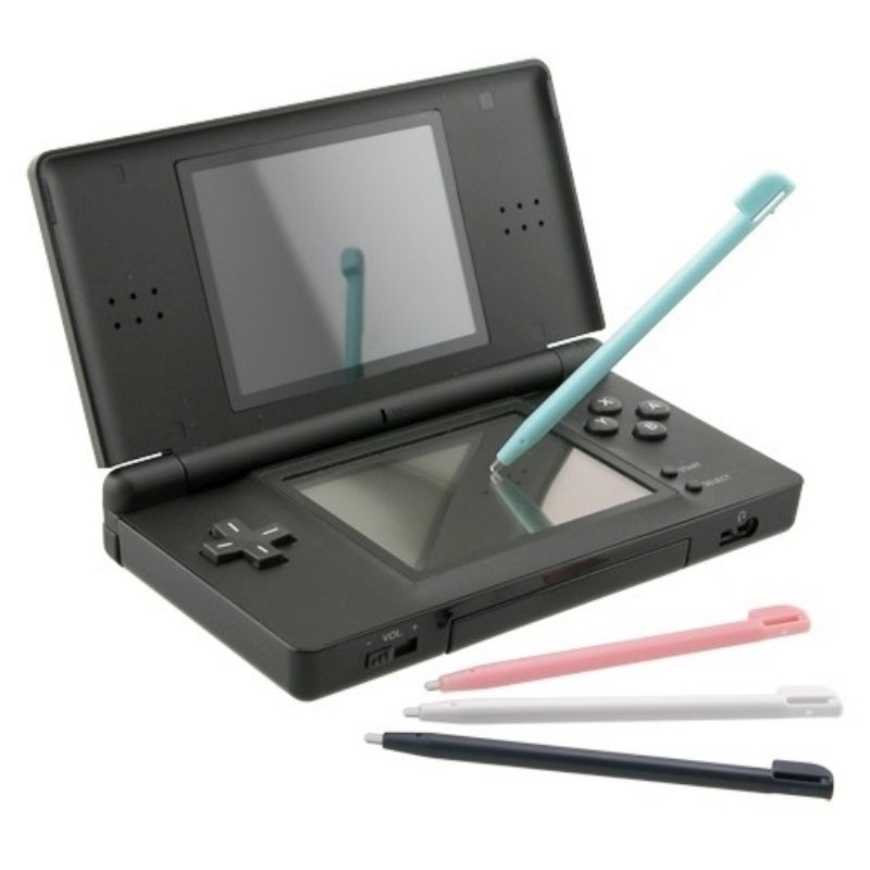 4-piece Set Stylus compatible with Nintendo DS Lite, Plastic