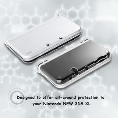 Insten Crystal Clear Hard Shell Case Cover For Nintendo New 3DS XL / New 3DS LL