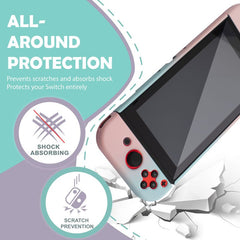 Hard Plastic Case Cover Compatible With Nintendo Switch