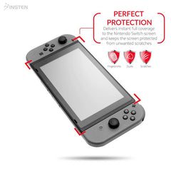 3-Pack Clear Screen Protector Compatible With Nintendo Switch