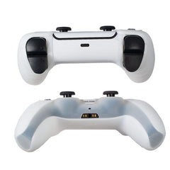 2-pack Silicone Skin Case Compatible with Playstation 5 PS5 Controller, White