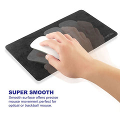 "Insten Laptop Mouse Pad Multi-functional Mouse Mat (Act as Screen Protector & Cleaning Cloth) (10.8 x 6.3"")"
