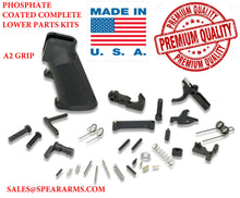 Load image into Gallery viewer, AR-15/AR-9 Lower Parts Kit - Includes Grip/FCG