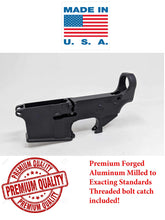 Load image into Gallery viewer, Premium 80% Forged Lower Receiver - Black Anodized