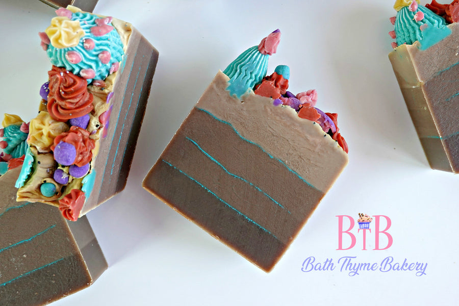 Succulent Fudge Soap