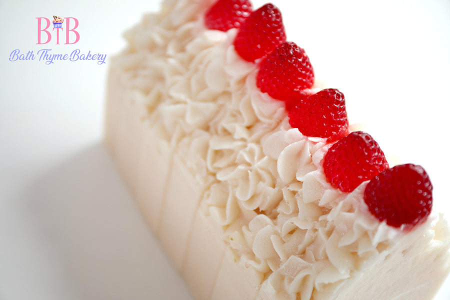 Strawberry Princess Coconut Soap