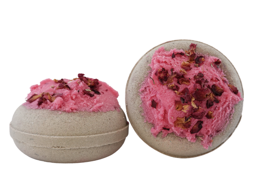 Honey Rose Donut Bath Bomb