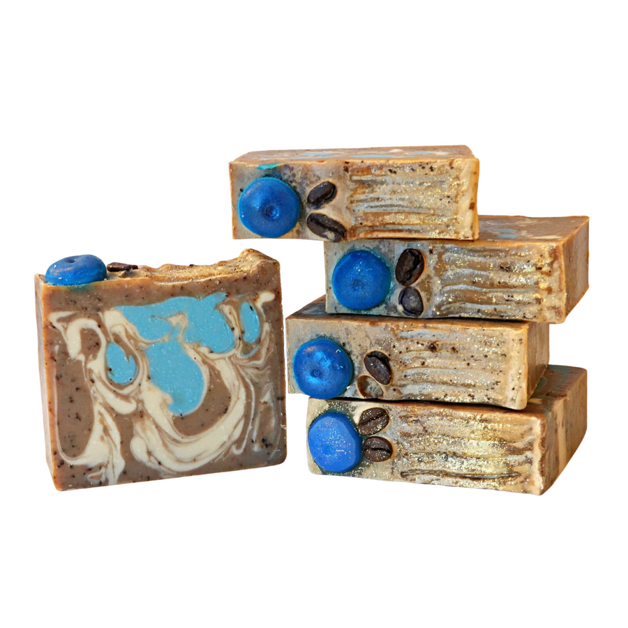 Blueberry Coffee Handcrafted Soap