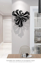 Load image into Gallery viewer, Shadows with Pillars on the Rise Wall Art Clock