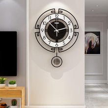 Load image into Gallery viewer, Symmetry Stylised Pendulum Clock