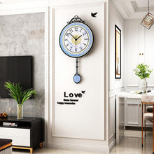 Load image into Gallery viewer, Antique Style Pendulum Wall Clock