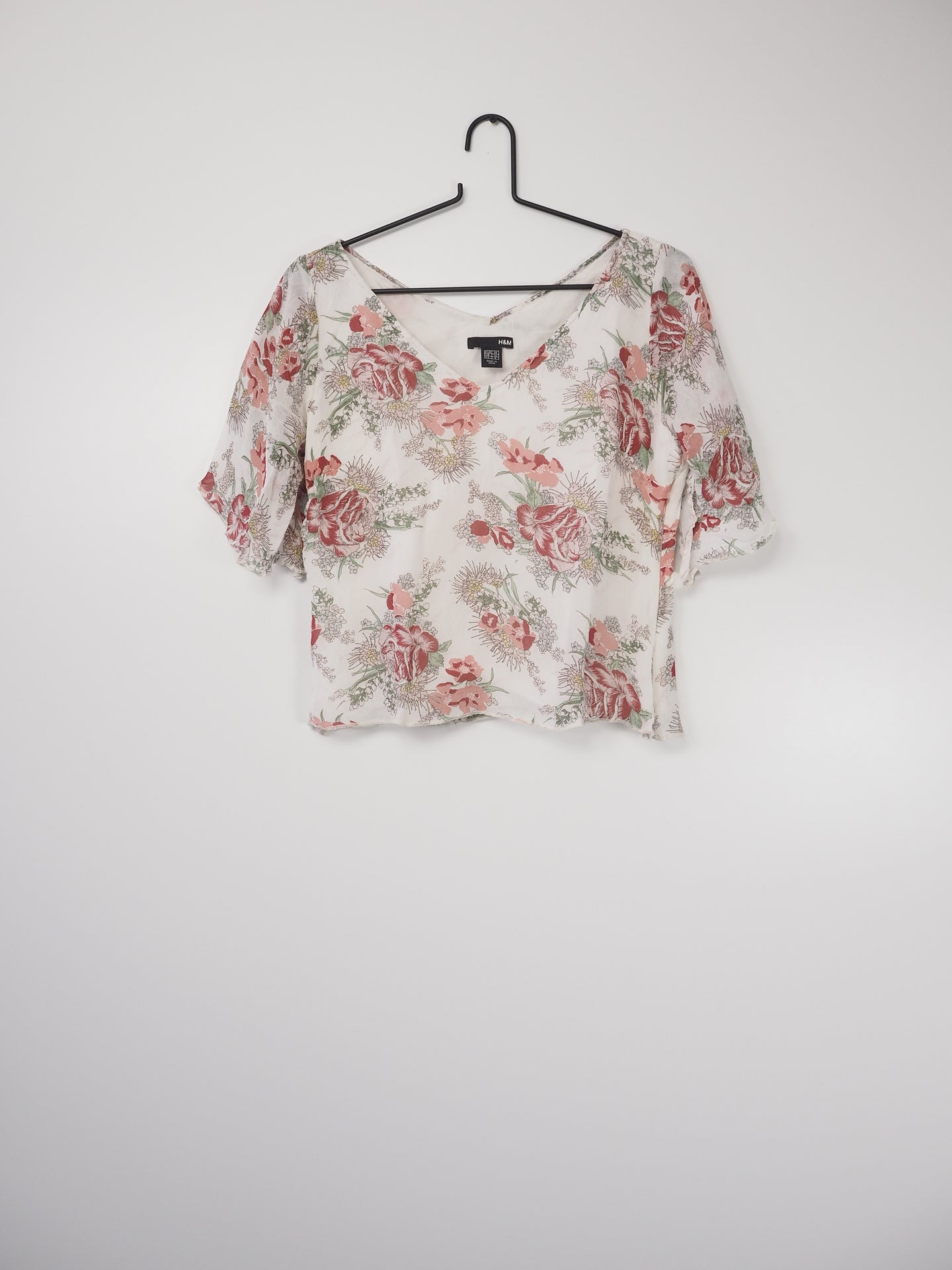 Floaty flower top (H&M)
