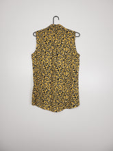 Afbeelding in Gallery-weergave laden, Sleeveless luipaardprint blouse (Costes)