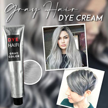 Load image into Gallery viewer, Gray Hair Dye Cream