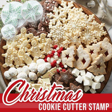 Load image into Gallery viewer, Christmas Cookie Cutter Stamp