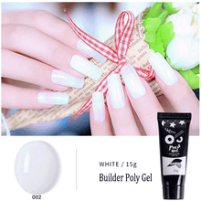 Load image into Gallery viewer, PolyGel Nail Kit summertwinkle White
