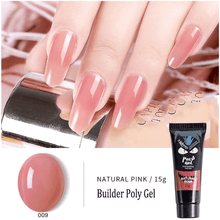 Load image into Gallery viewer, PolyGel Nail Kit summertwinkle Natural Pink