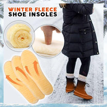 Load image into Gallery viewer, Winter Fleece Shoe Insoles