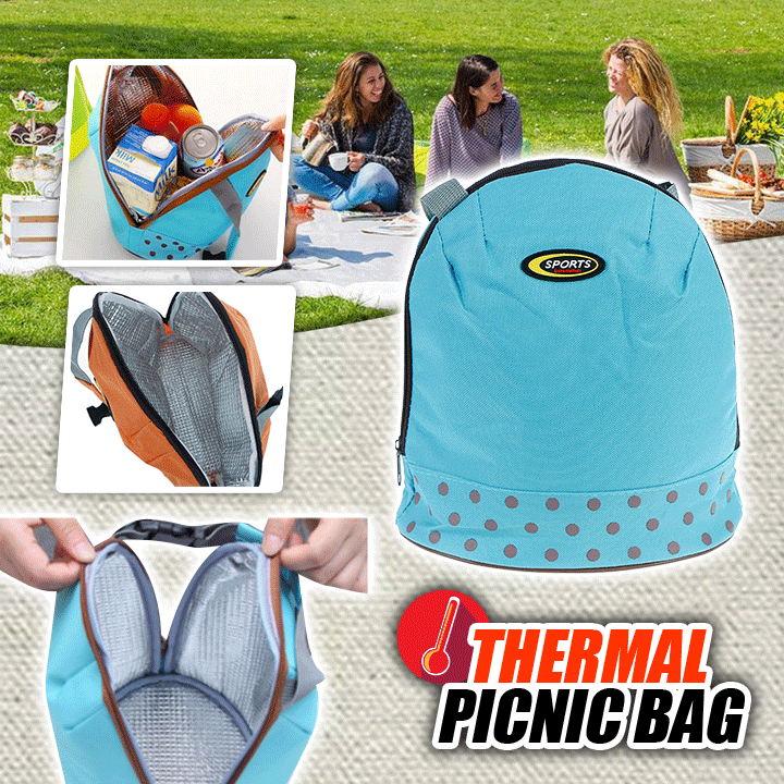 Thermal Picnic Bag summertwinkle blue