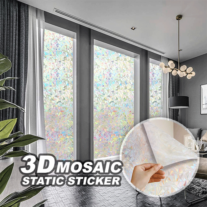3D Mosaic Static Sticker summertwinkle