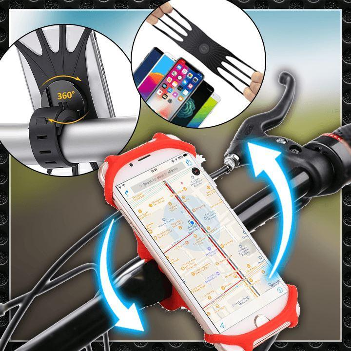 Silicone Bicycle Phone Holder