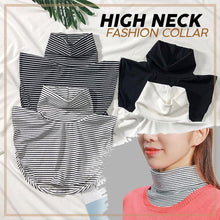 Load image into Gallery viewer, High Neck Fashion Collar