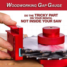 Load image into Gallery viewer, Woodworking Gap Gauge