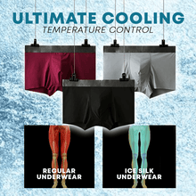 Load image into Gallery viewer, Men Ice Silk Underwear