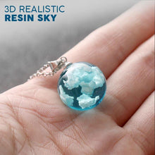 Load image into Gallery viewer, 3D Resin Sky Pendant