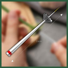Load image into Gallery viewer, Stainless Steel Scallion Cutter