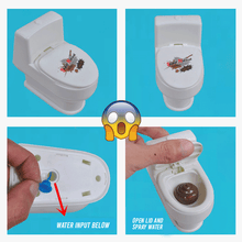 Load image into Gallery viewer, Squirt Toilet Prank Toy summertwinkle