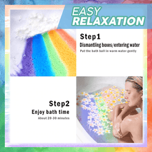 Load image into Gallery viewer, Rainbow Bath Bomb