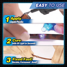 Load image into Gallery viewer, 5 Second UV Light Super Glue Pen