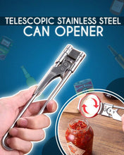 Load image into Gallery viewer, Telescopic Stainless Steel Can Opener
