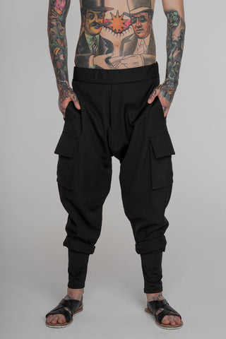 Image of No Attack Cargo Pants Black
