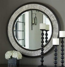 Load image into Gallery viewer, Barclay Butera Brentwood Wilshire  Round Wall Mirror
