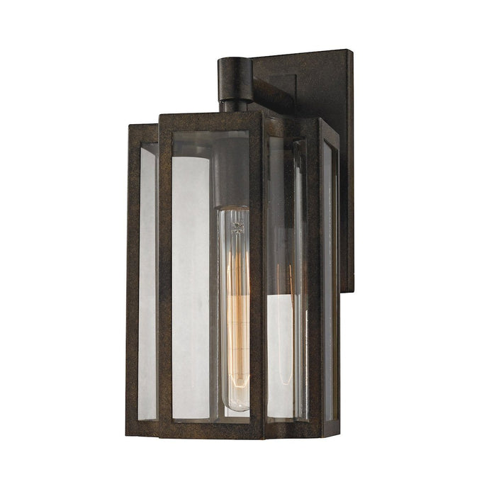 Bianca 1-Light Outdoor Wall Lamp In Hazelnut Bronze