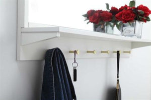Elegant Rectangular Entry Mirror