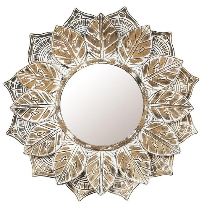 Leaf Frame Mirror
