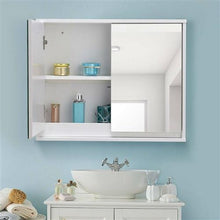 Load image into Gallery viewer, Modern Bathroom Wall Mirror Medicine Cabinet
